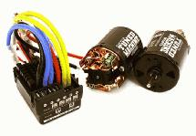Scale Off-Road Edition Waterproof WP-860 ESC & Dual Drive Motors 55T 540 Size