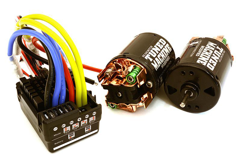 Scale Off-Road Edition Waterproof WP-860 ESC & Dual Drive Motors 45T 540 Size