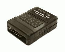 G.T. Power LiPo Battery Tester and USB Port Power Source for Portable Device