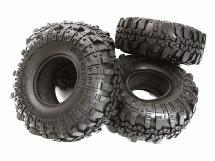 1.9 Size Rock Crawler Tire (4) Set for 1/10 Scale D90, TF2 & SCX-10 O.D.=110mm
