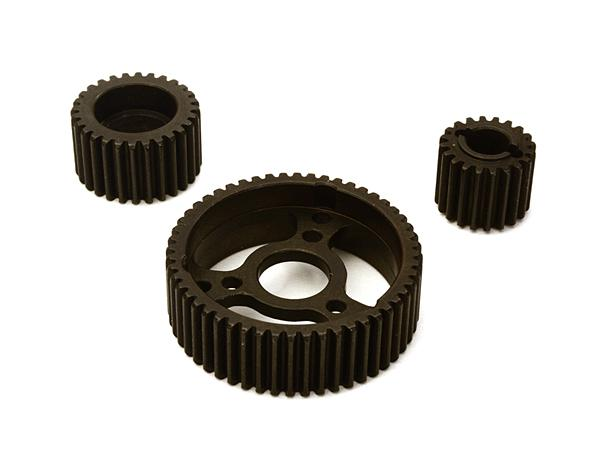 Metal Center Gearbox Gear Set (30394, 80010) for Axial SCX-10 & Wraith