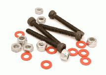 Nuts, Spacers & Screws for 1/10 Off-Road Upper Shock Mount 3mm Size Hardware