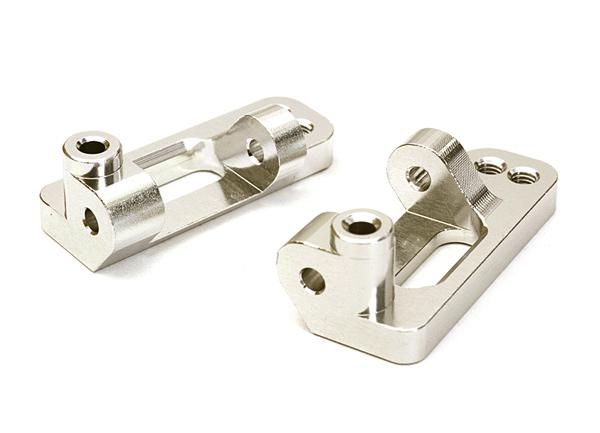 Billet Machined Alloy Front Caster Blocks for Traxxas 1/10 Bigfoot 2WD Truck