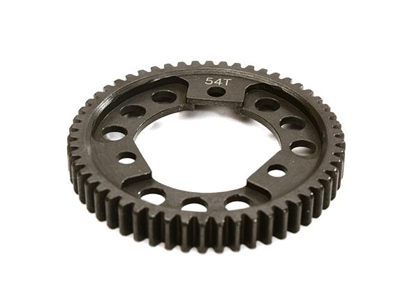 Steel 0.8 Center Diff Type Spur Gear 54T for 1/10 Stampede 4X4 & Slash 4X4