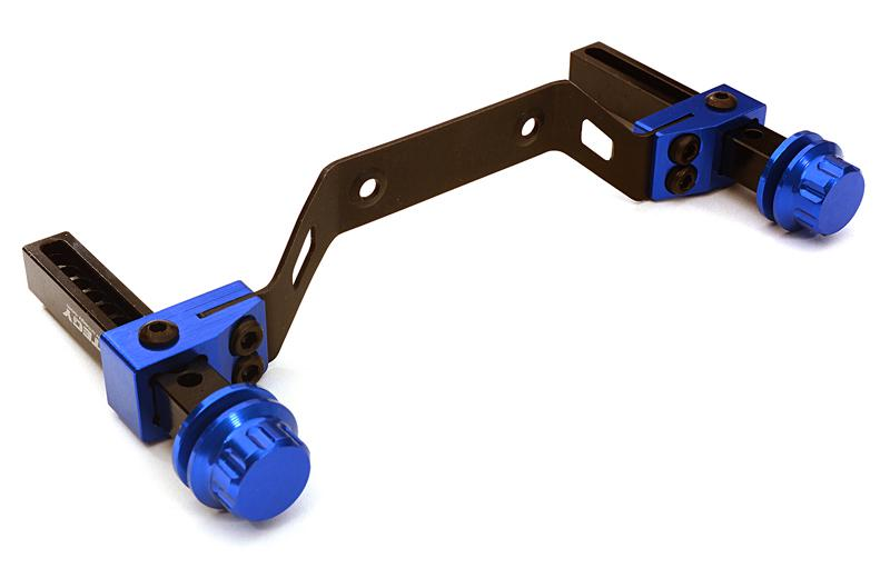 Extended Front Body Mount & Post Set for Traxxas Slash 4X4