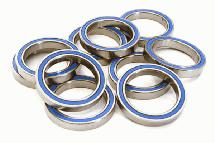 Low Friction Blue Rubber Sealed Ball Bearings (10) 20x27x4mm for RC Vehicles
