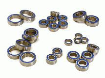 Low Friction Blue Rubber Sealed Bearings (25) Set for Traxxas 1/10 Slash 4X4