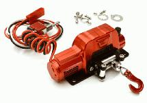 Billet Machined Realistic Power Winch for Scale Rock Crawler 1/10 Size