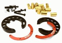 Portal Axle Counterweight Add-On (2) for Traxxas TRX-4 Scale & Trail Crawler