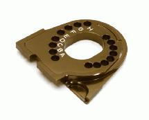 Billet Machined Motor Mounting Plate for Traxxas TRX-4 Scale & Trail Crawler