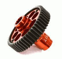 Alloy Machined Metal Transmission Output Gear 51T for Traxxas X-Maxx 4X4