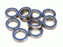 Low Friction Blue Rubber Sealed Ball Bearings (10) 15x24x5mm for RC Vehicles