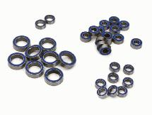 Complete Rubber Seal Bearing Set (33) for 1/16 Traxxas E-Revo, Slash, Summit