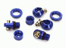 Billet Machined Anodized Shock Parts for Traxxas TRX-4 Scale & Trailer Crawler