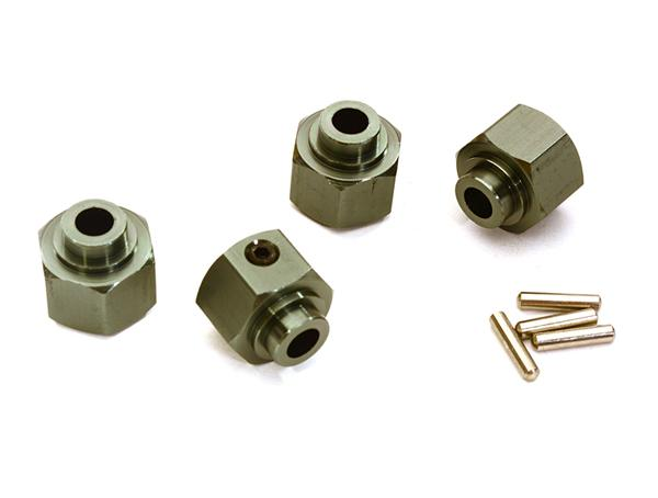 Replaces Part AX30427 for 1:10 Axial Wraith Blue Atomik RC Alloy Hex 12mm x 7mm Other Axial Models AX30429
