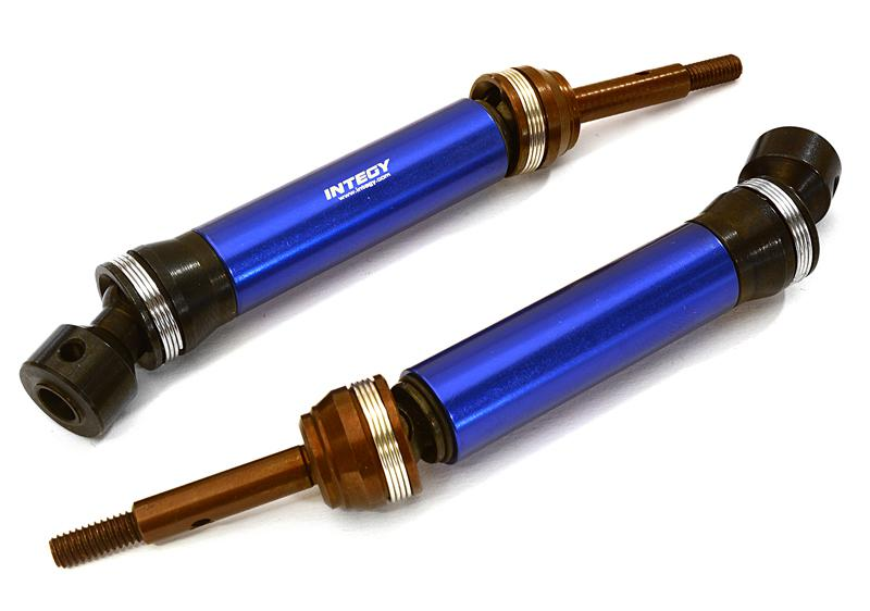 XHD Steel Rear Universal Drive Shaft (2) for Traxxas 1/10 Slash & Stampede 4X4