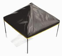 Realistic Pop Up 20x20 Inch Canopy Tent for 1/10 Scale Crawler Truck