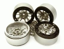 Billet Machined 1.9 Alloy Wheels for Traxxas TRX-4 Scale & Trail Crawler