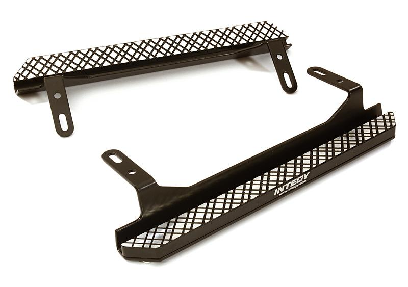 Alloy Machined Side Step Plate Set for Traxxas TRX-4 Scale & Trail Crawler