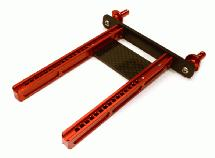 Adjustable Rear Body Mount & Post Set for Traxxas TRX-4 Scale & Trail Crawler