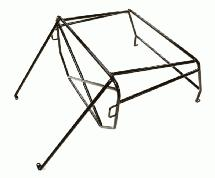 Realistic Outer Roll Cage for 1/10 D90 Pickup Gen-2 Scale Body