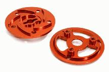 Billet Machined Slipper Pressure Plate & Hub for 1/10 Summit & E-Maxx Brushless