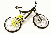 Realistic Alloy Machined Mountain Bicycle for 1/10 Size R/C Model