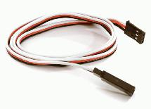 RX-Futaba Type Extension 600mm 22AWG Servo Wire