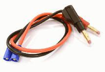 EC3 Charge Cable 14AWG 30cm Wire Harness w/ Banana Plugs Charging Jack