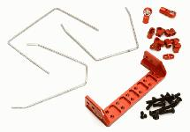 Anti Roll Stabilizer Sway Bar Kit for Traxxas TRX-4 Off-Road Truck