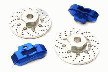 Realistic Alloy Rear Brake Disc (2) for Traxxas 1/10 4-Tec 2.0