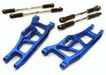 Billet Machined Extended 34mm Front Suspension Conversion for 1/10 Slash 2WD