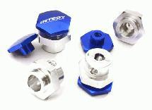 Billet Machined 17mm Wheel Adapters (4) for Traxxas 1/10 Stampede 4X4