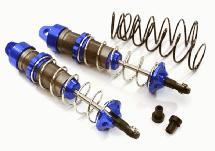 Machined 105mm Rear Big Bore Shocks for Traxxas 1/10 Stampede, Rustler & Slash