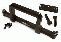Realistic Front Alloy Bumper w/ Motorized Winch Mount for Traxxas TRX-4 Defender