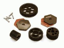 Alloy Machined Transmission Gear Set for Traxxas TRX-4
