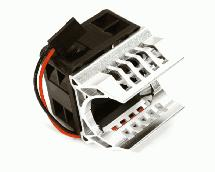 Brushless Motor Heatsink+40x40mm Cooling Fan 16k rpm for 1/16 E-Revo & Slash VXL