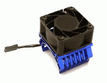 36mm Motor Heatsink+40x40mm Cooling Fan 17k rpm for 1/10 TR-MT10E & TRX-4