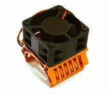 36mm Motor Heatsink+40mm Fan 16k rpm for 1/10 Slash 4X4, Stampede 4X4, 4-Tec 2.0