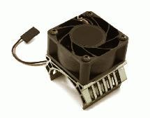 36mm Motor Heatsink+40mm Fan 17k rpm for 1/10 Slash 4X4, Stampede 4X4, 4-Tec 2.0