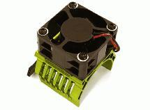 42mm Motor Heatsink+40x40mm Cooling Fan 16k rpm for 1/10 Summit & E-Revo