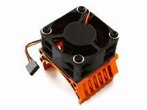 42mm Motor Heatsink+40x40mm Cooling Fan 16k rpm for Traxxas 1/10 E-Maxx
