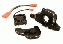 Alloy Motor Mount w/ Cooling Fan for TRX-4 Scale & Trail Crawler
