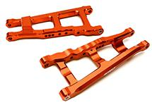 Billet Machined Lower Suspension Arms for Traxxas 1/10 Rustler 4X4