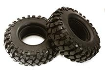 All Terrain Type Off-Road 1.9 Size Tire Set (2) O.D.108mm