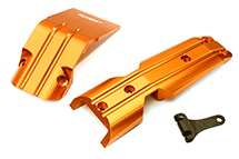 Billet Machined Alloy Front Skid Plates (2) for Traxxas 1/10 E-Revo 2.0