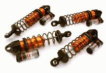 Billet Machined Piggyback Shock Set (4) for Traxxas 1/10 Bandit 2WD