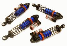 Billet Machined Piggyback Shock Set (4) for Traxxas 1/10 Slash 2WD & Nitro Slash