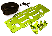 Adjustable Battery Mounting Plate w/ Straps for Arrma Kraton 6S BLX Brushless