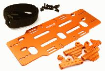 Adjustable Battery Mounting Plate w/ Straps for Arrma Kraton/Senton(6S BLX Only)